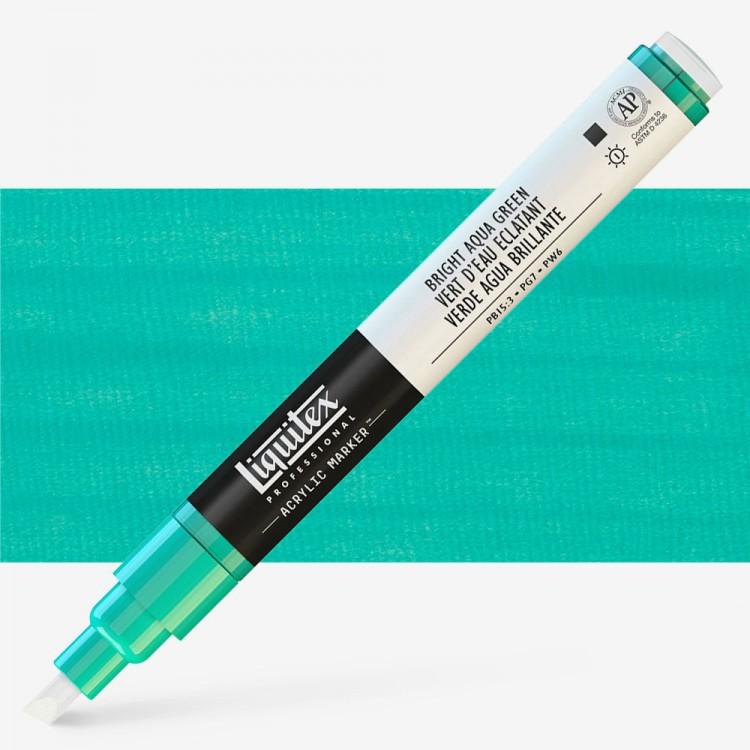 Liquitex : Professional : Marker : 2mm Fine Nib : Bright Aqua Green