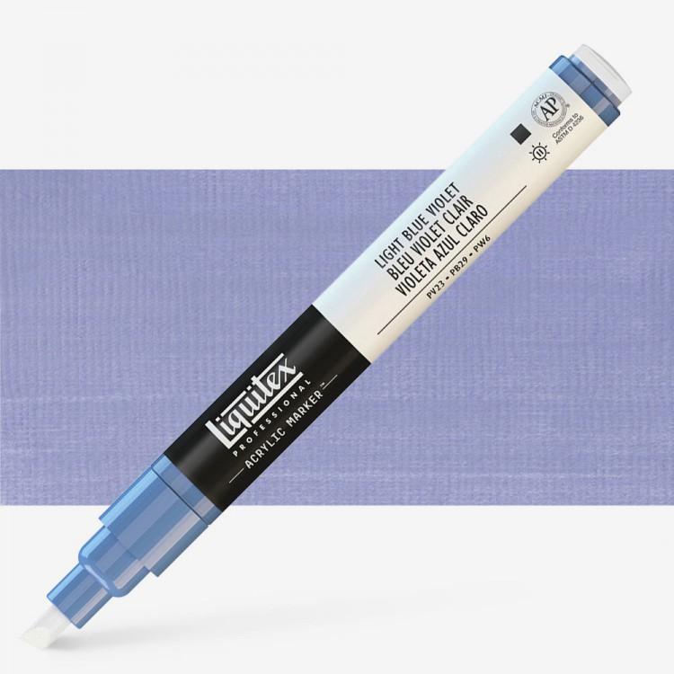 Liquitex : Professional : Marker : 2mm Fine Nib : Light Blue Violet