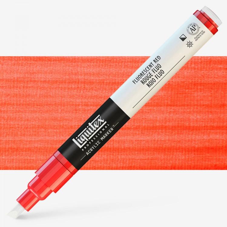 Liquitex : Professional : Marker : 2mm Fine Nib : Fluorescent Red