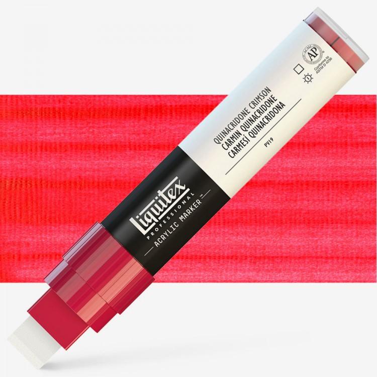 Liquitex : Professional : Marker : 15mm Wide Nib : Quinacridone Crimson