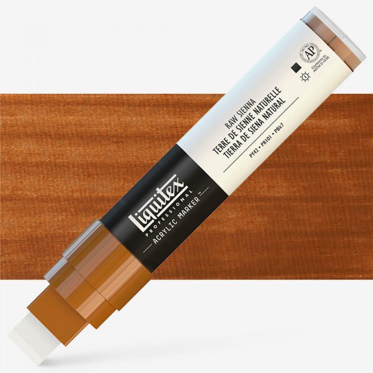 Liquitex : Professional : Marker : 15mm Wide Nib : Raw Sienna