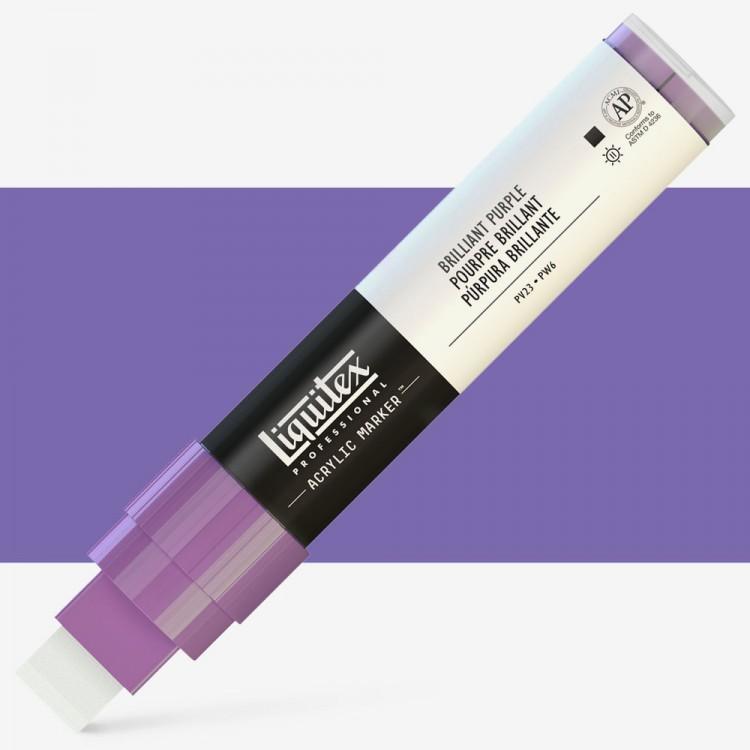 Liquitex Marker : 15mm WIDE Brilliant Purple