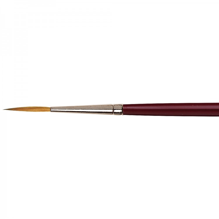 Da Vinci : Kolinsky Red Sable : Oil Brush : Series 1210 : Liner : Size 4