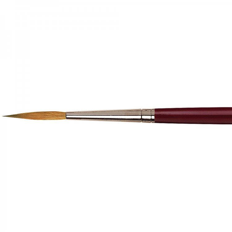 Da Vinci : Kolinsky Red Sable : Oil Brush : Series 1210 : Liner : Size 8