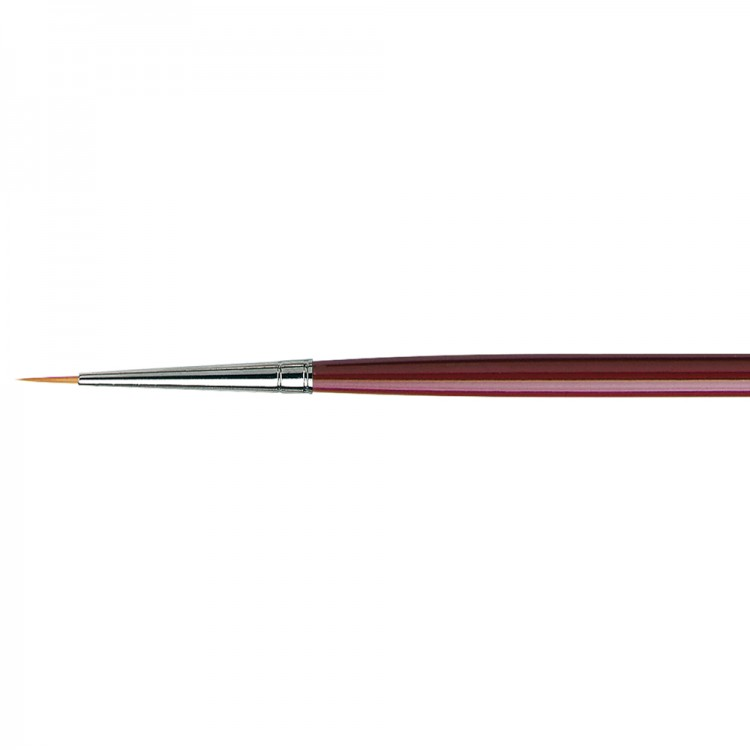 Da Vinci : Kolinsky Red Sable : Oil Brush : Series 1610 : Round : Size 0