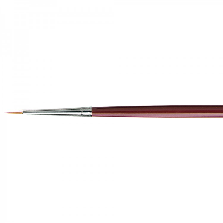 Da Vinci : Kolinsky Red Sable : Oil Brush : Series 1610 : Round : Size 00