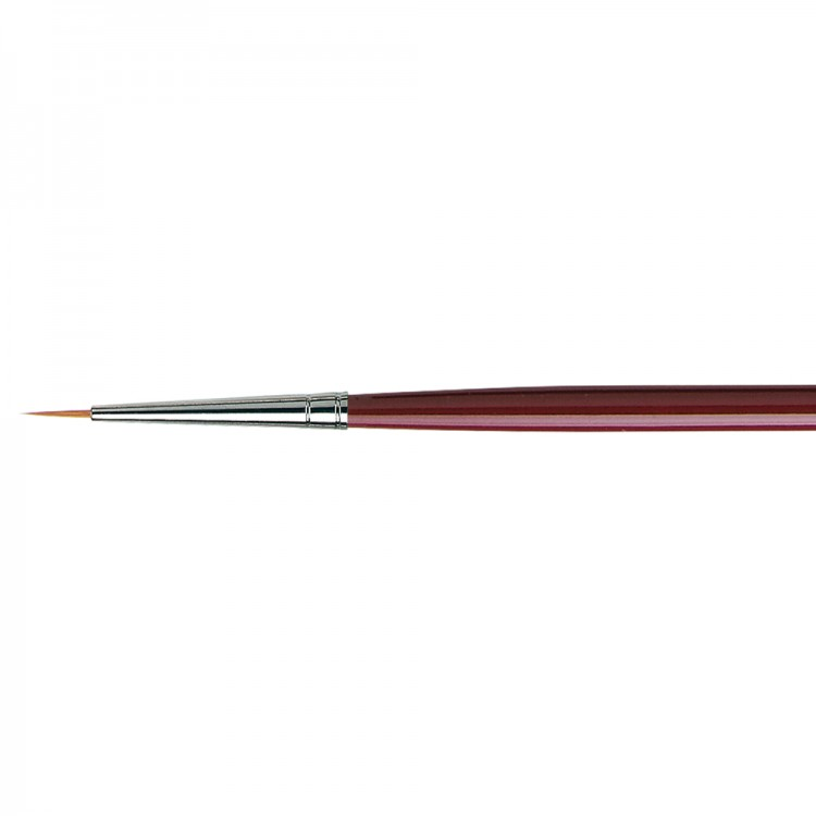 Da Vinci : Kolinsky Red Sable : Oil Brush : Series 1610 : Round : Size 1