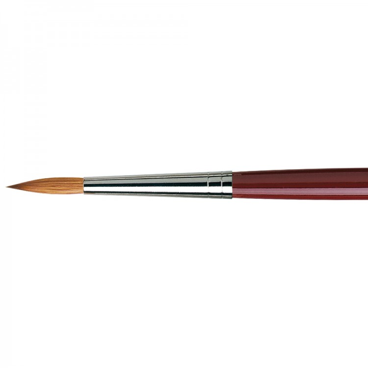 Da Vinci : Kolinsky Red Sable : Oil Brush : Series 1610 : Round : Size 12