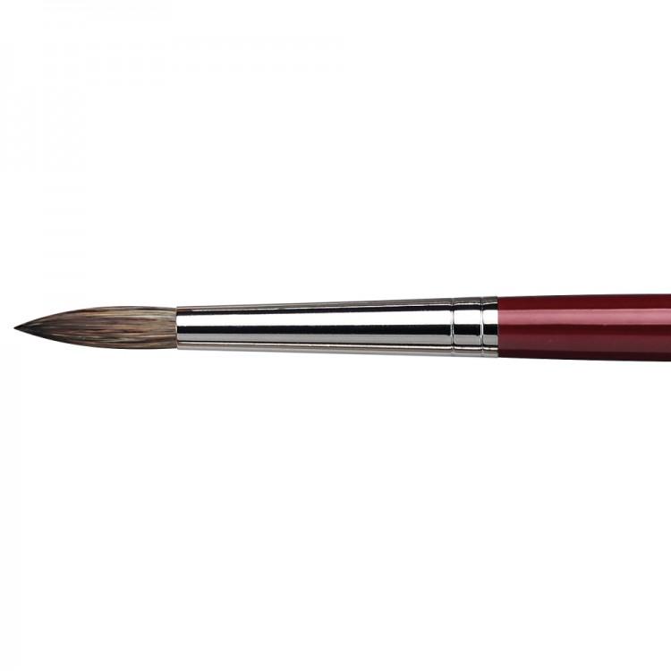 Da Vinci : Black Sable : Oil Brush : Series 1640 : Round : Size 16