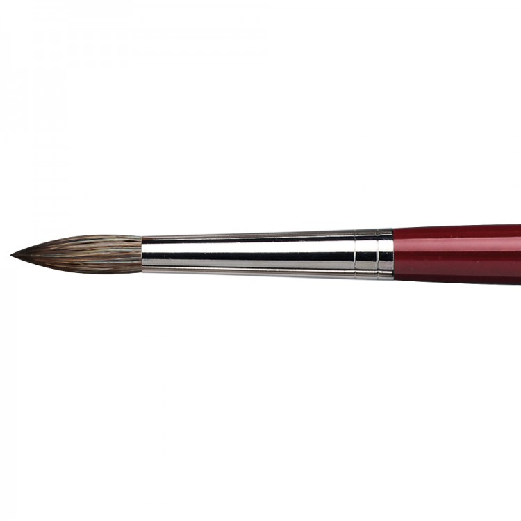 Da Vinci : Black Sable : Oil Brush : Series 1640 : Round : Size 18