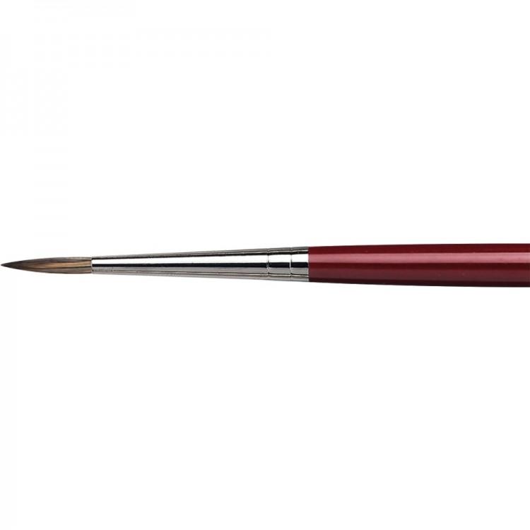 Da Vinci : Black Sable : Oil Brush : Series 1640 : Round : Size 8