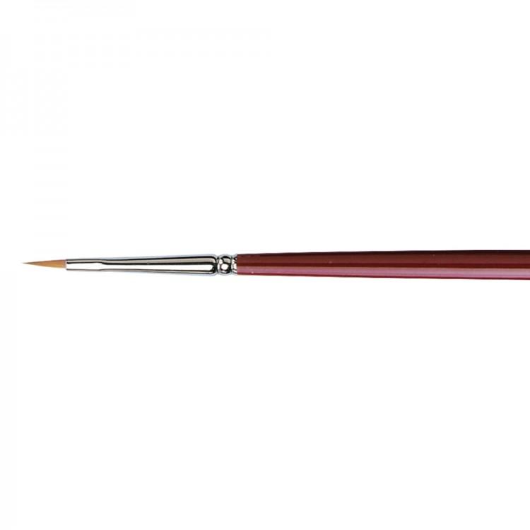 Da Vinci : Kolinsky Red Sable : Oil Brush : Series 1815 : Filbert : Size 0