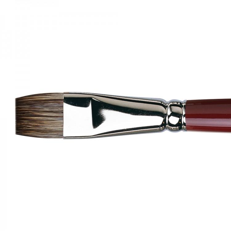 Da Vinci : Black Sable : Oil Brush : Series 1840 : Bright : Size 16