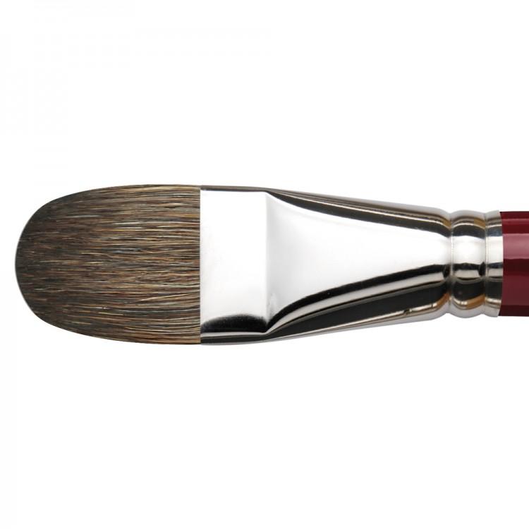 Da Vinci : Black Sable : Oil Brush : Series 1845 : Filbert : Size 30