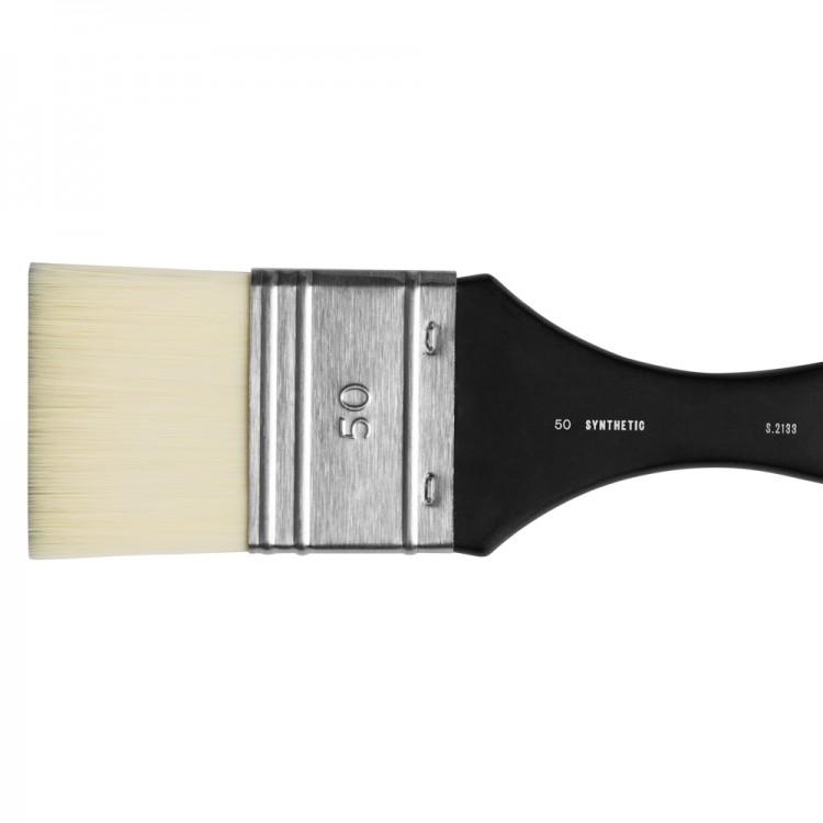 Jackson's : White Synthetic Mottler Brush : 50mm