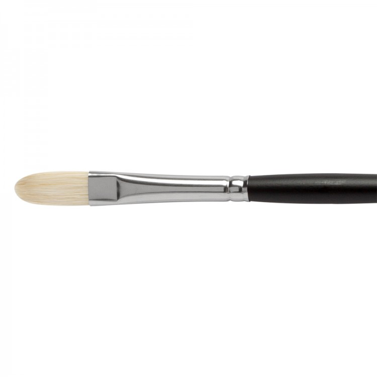 Jackson's : Shiro : Professional Hog Bristle Hair Brush : Filbert : No.5