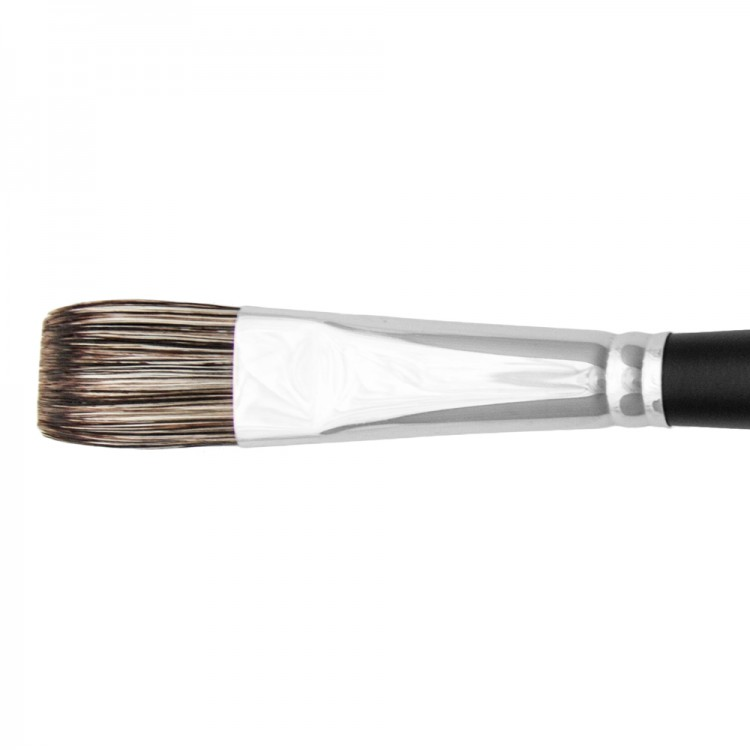 Jackson's : Black Hog Bristle Brush : Flat : No.10