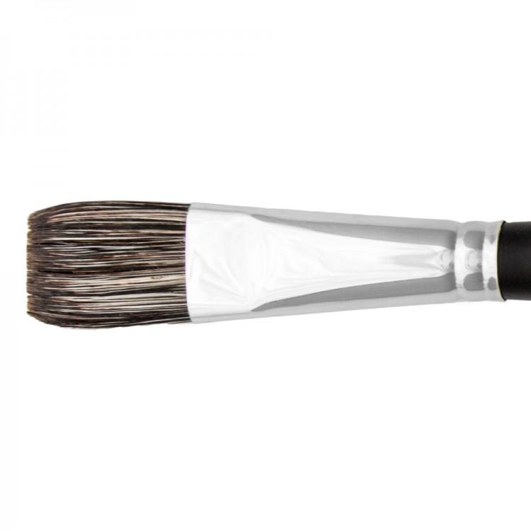 Jackson's : Black Hog Bristle Brush : Flat : No.12