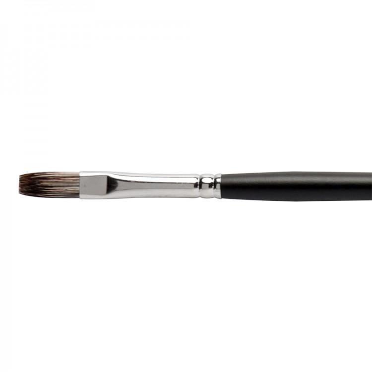 Jackson's : Black Hog Bristle Brush : Flat : No.3