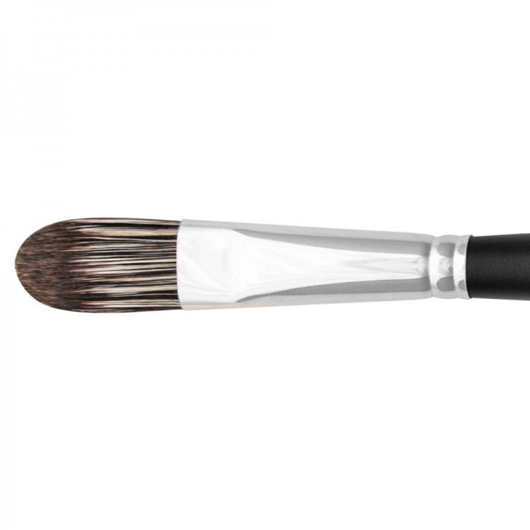Jackson's : Black Hog Bristle Brush : Filbert : No.10