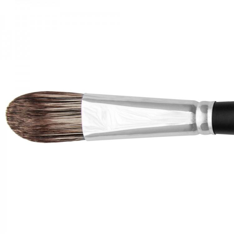 Jackson's : Black Hog Bristle Brush : Filbert : No.12