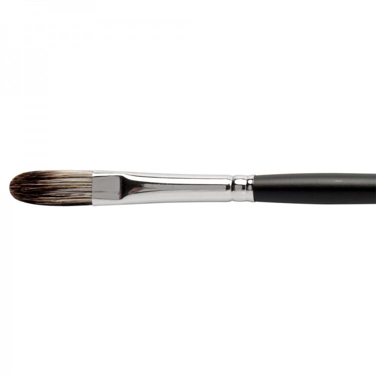 Jackson's : Black Hog Bristle Brush : Filbert : No.5