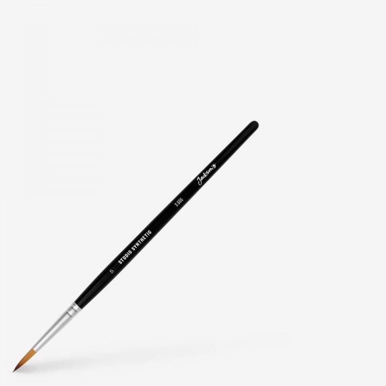 Jackson's : Studio Synthetic Watercolour Brush : Round : Size 5