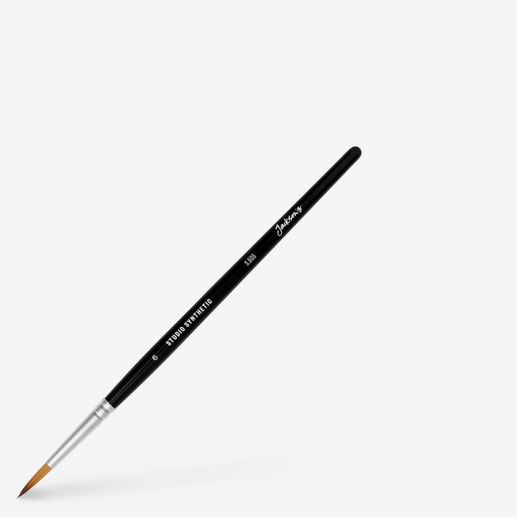 Jackson's : Studio Synthetic Watercolour Brush : Round : Size 6