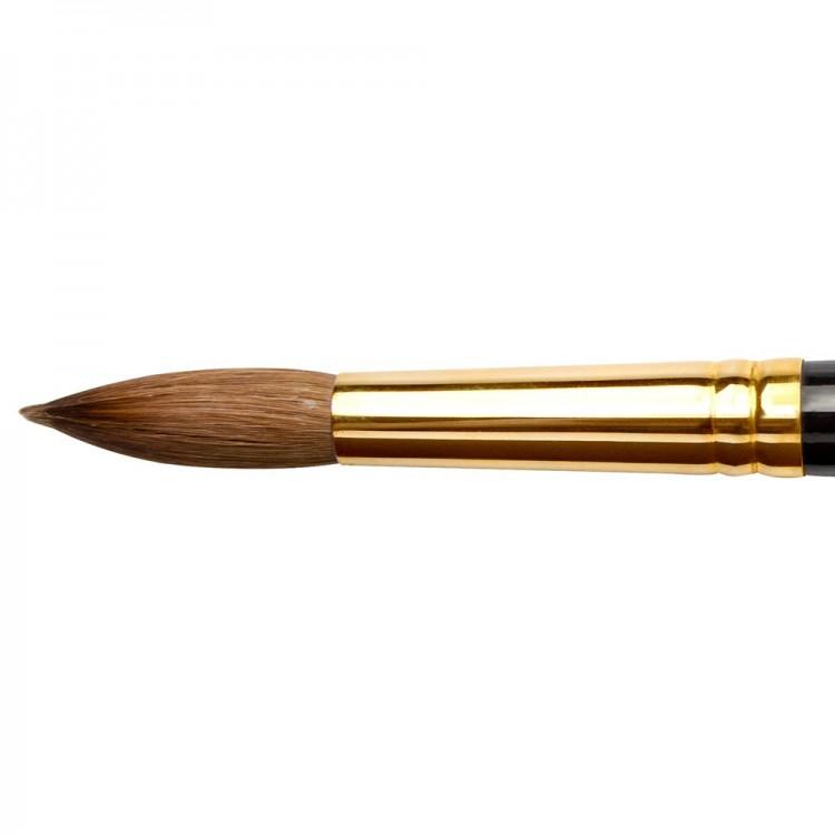 Jackson's : Kolinsky Sable Brush : Round : Size 14