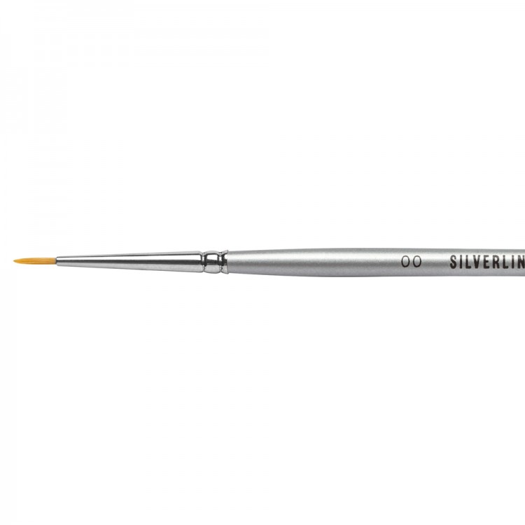 JACKSON'S : SILVERLINE WATERCOLOUR BRUSH : SERIES 986 : ROUND : SIZE 2/0