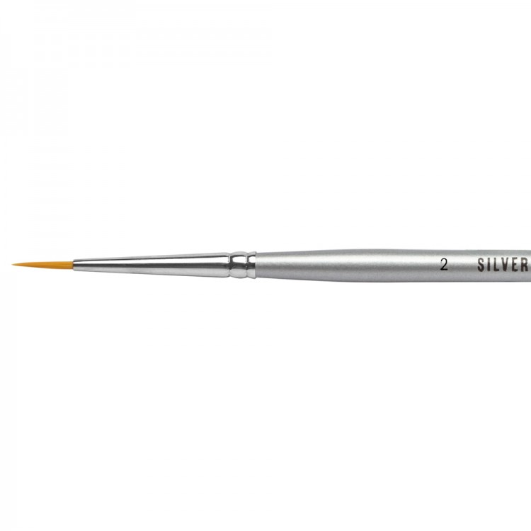 Jacksons : Silverline Watercolour Brush : Series 986 : Round : Size 2