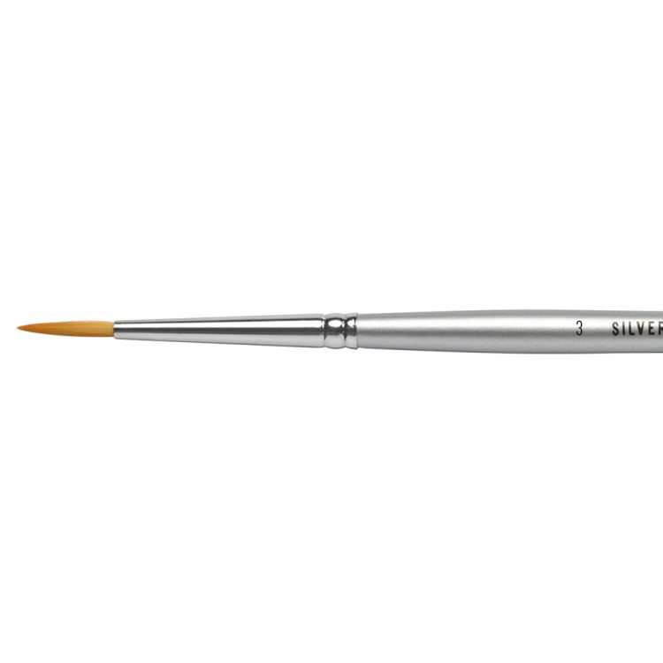 Jackson's : Silverline Watercolour Brush : Series 986 : Round : Size 3