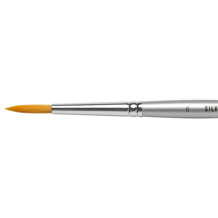 Jacksons : Silverline Watercolour Brush : Series 986 : Round : Size 6