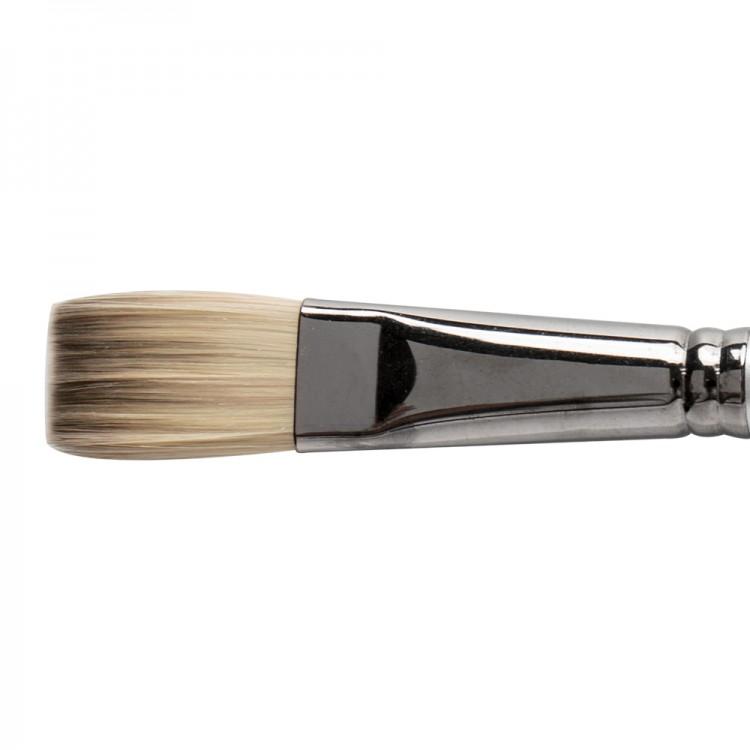 Daler Rowney : Cryla : Series C25 : Long Handled : Flat : Size 12