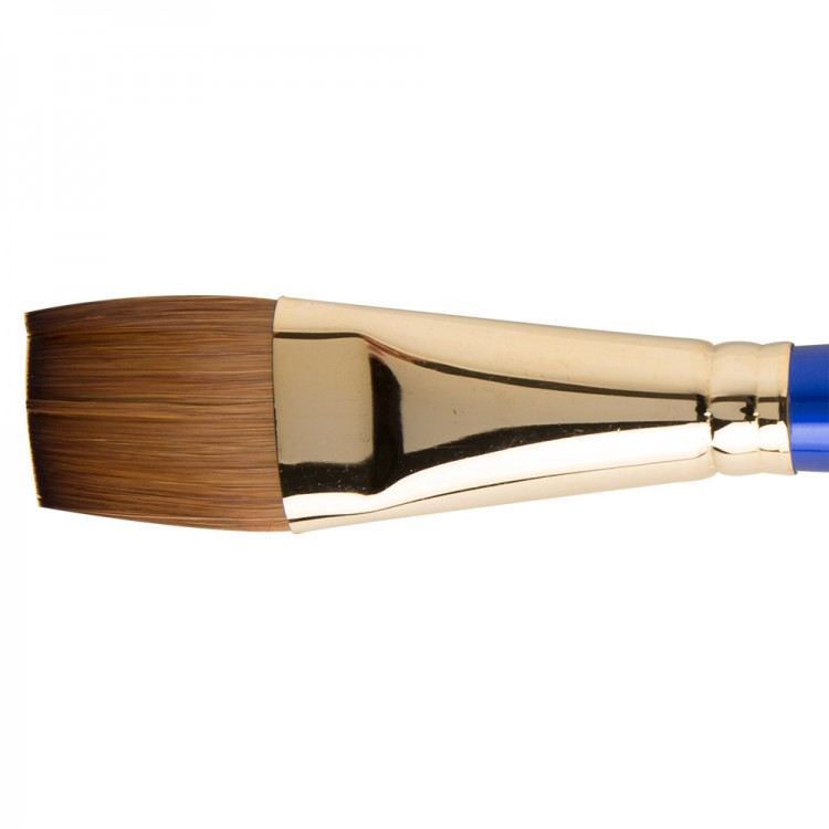 Daler Rowney : Sapphire Brush : Series 55 : Flat Wash : Size 1in.