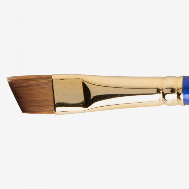 Daler Rowney : Sapphire Brush : Series 57 : Angled Shader : Size 1/2in.