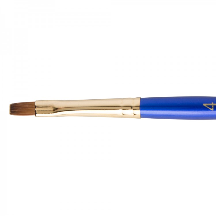 Daler Rowney : Sapphire Brush : Series 60 : Shader : Size 4