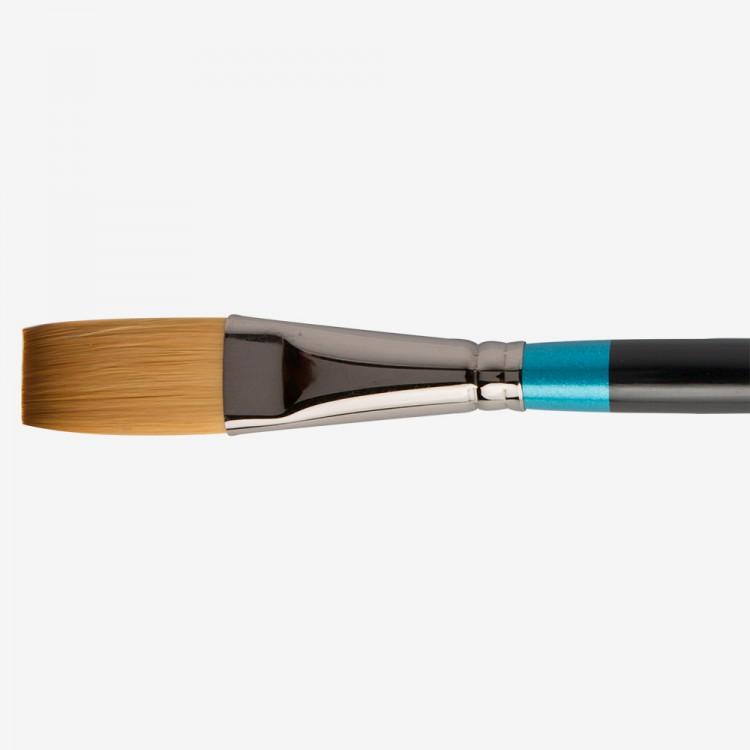 Daler Rowney : Aquafine Watercolour Brush : Af21 Synth One Stroke : 3/4In