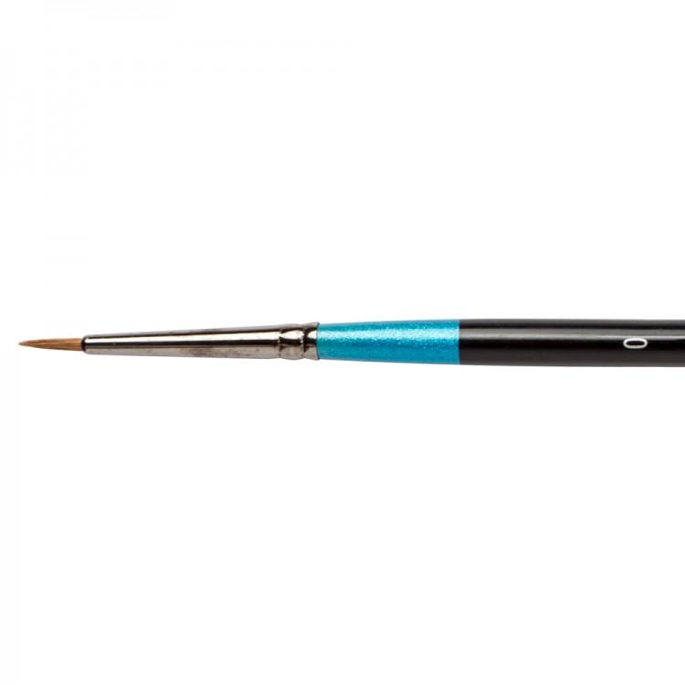Daler Rowney : Aquafine Watercolour Brush : Af34 Sable Round : 0