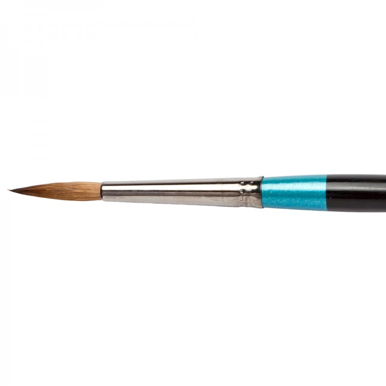 Daler Rowney : Aquafine Watercolour Brush : Af34 Sable Round : 6