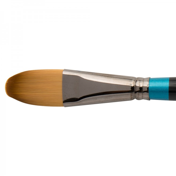 Daler Rowney : Aquafine Watercolour Brush : Af52 Synth Oval Wash : 1In