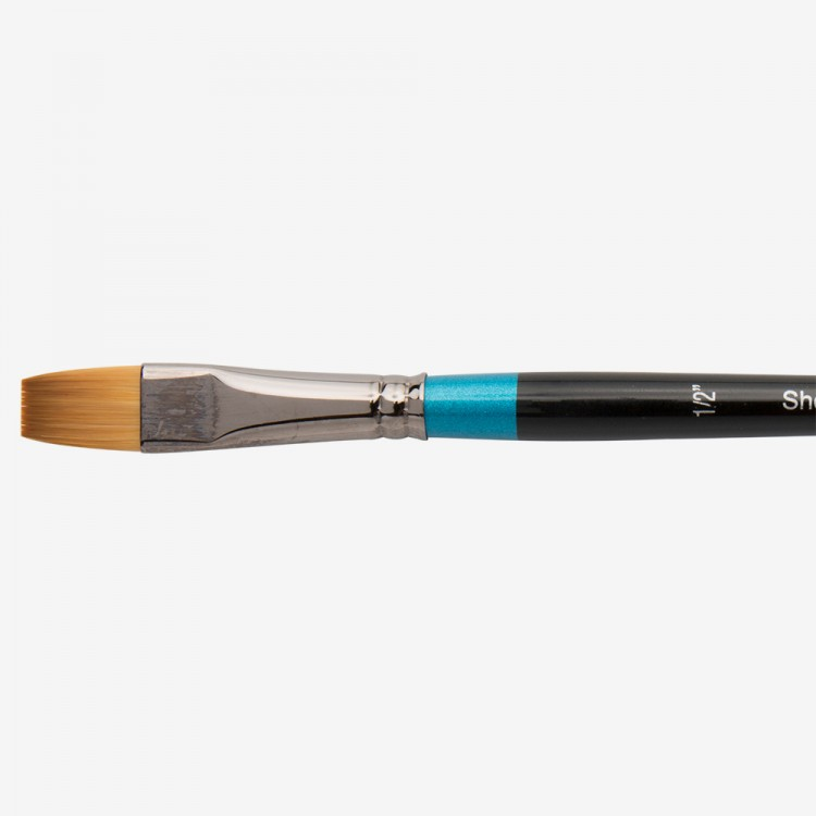 Daler Rowney : Aquafine Watercolour Brush : Af55 Short Flat : 1/2In
