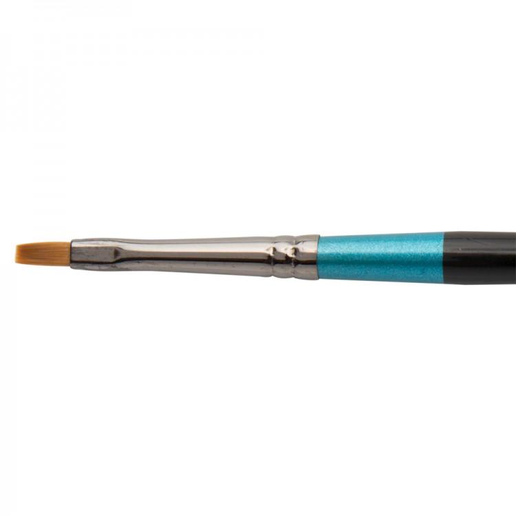 Daler Rowney : Aquafine Watercolour Brush : Af62 Flat Shader : 2
