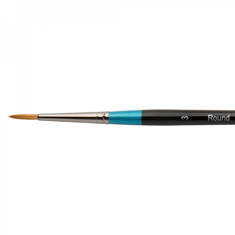 Daler Rowney : Aquafine Watercolour Brush : Af85 Round : 3