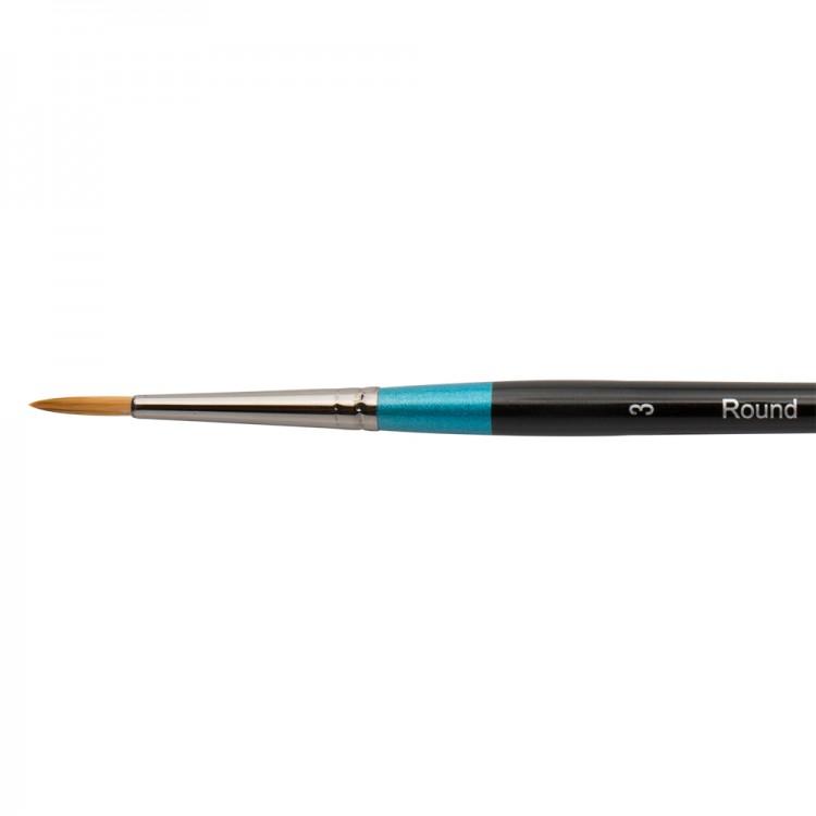 Daler Rowney : Aquafine Watercolour Brush : Af85 Round : 3
