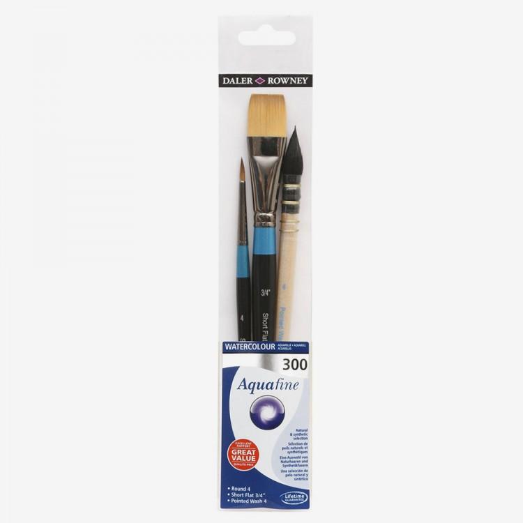 Daler Rowney : Aquafine Watercolour Paint : Wallet Set : 300