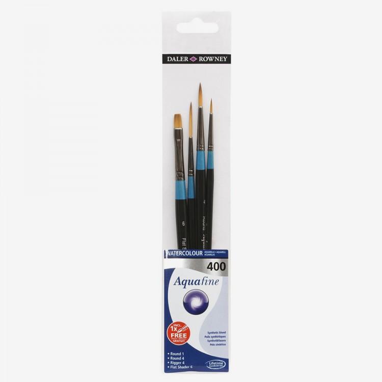 Daler Rowney : Aquafine Watercolour Brush : Wallet Set : 400
