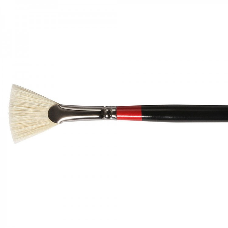 Daler Rowney : Georgian Oil Brush : G84 Fan : 4