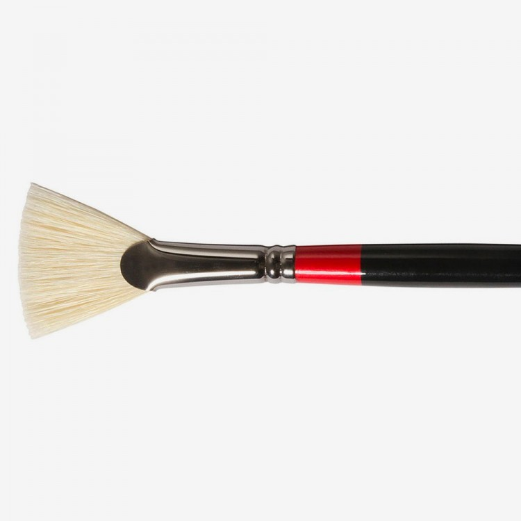 Daler Rowney : Georgian Oil Brush : G84 Fan : 6
