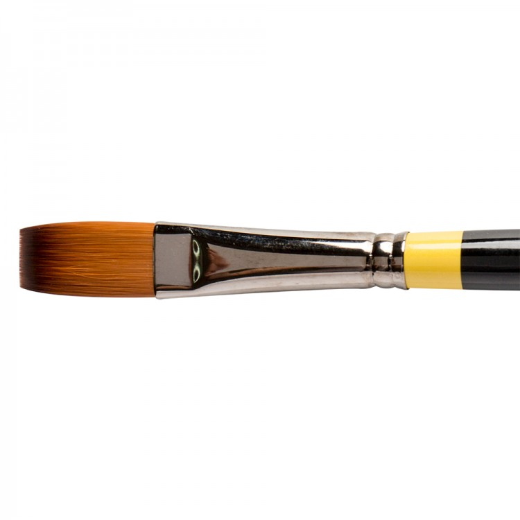 Daler Rowney : System 3 : Acrylic Brush : Sy44 Lh Flat : 10